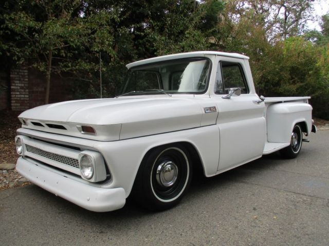 1965 Chevrolet C-10 V8 Automatic P/S P/B A/C Big Back Window CA Truck
