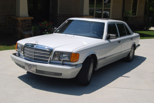 1991 Mercedes-Benz 300-Series 1991 MERCEDES-BENZ 350 SDL TURBO DIESEL LWB