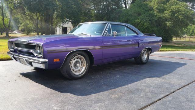 Plum Crazy Purple 1970 Plymouth Gtx 440 Magnum For Sale