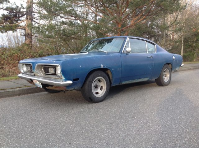 Plymouth Barracuda 1967 273 Muscle Car Fast Back Bucket Console Auto Mopar For Sale Photos Technical Specifications Description
