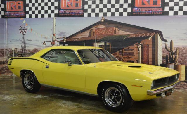 1970 Plymouth Barracuda CUDA