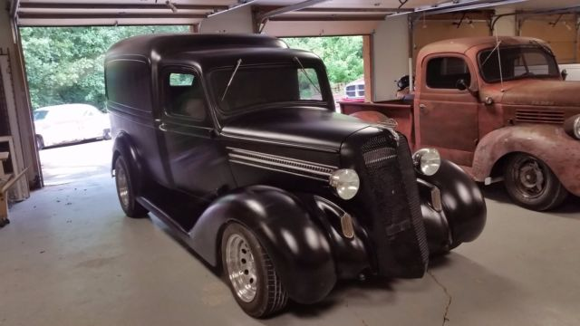Plymouth Dodge Humpback Panel Delivery Truck on 1941 Ford Sedan Delivery