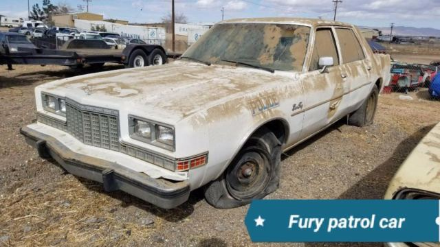 1985 Plymouth Fury Salon