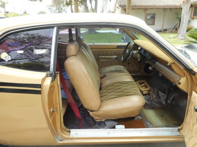 1972 Plymouth Duster Classic Muscle Car For Sale In Mi: Plymouth Gold Duster Muscle Car For Sale: Photos