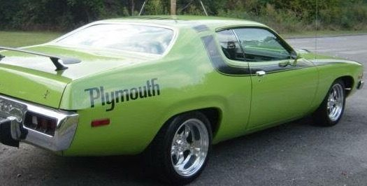 Plymouth Road Runner Mopar Restored Classic American Muscle Car