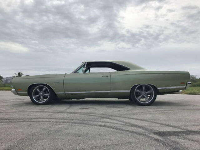 1969 Green Plymouth Satellite Coupe with Green interior