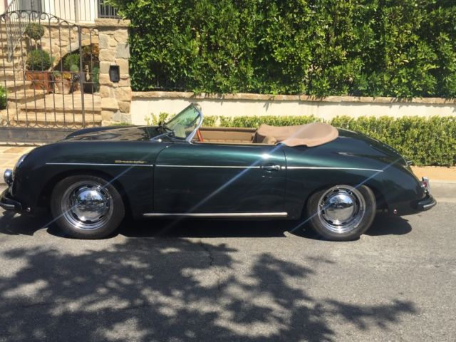 porsche 356 speedster replica with low miles excellent condition subaru engine for sale. Black Bedroom Furniture Sets. Home Design Ideas