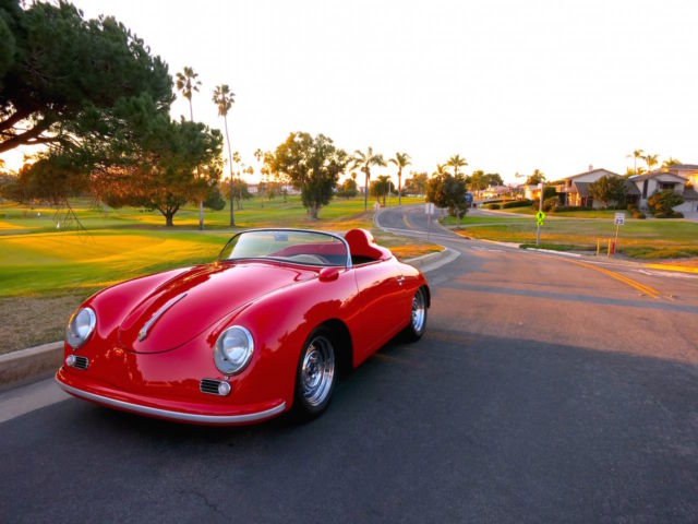 1956 Porsche 356 A Carrera 1500GS Speedster Tribute