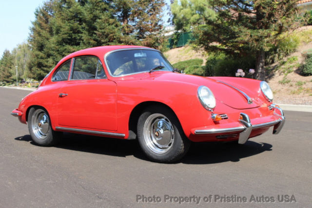 1963 Porsche 356 Porsche 356B S Coupe 1600, CA car from new,