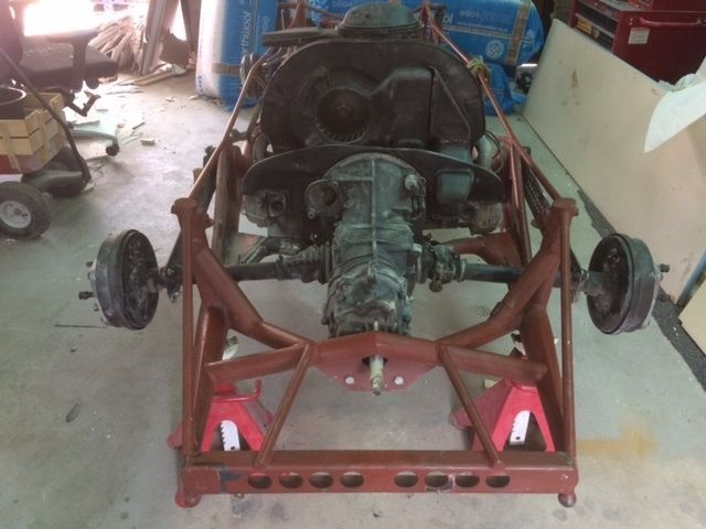 Porsche 550 Or 718 Rsk Chassis Kit Car For Sale Photos