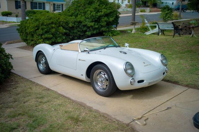 porsche 550 spyder 1955 replica - 1955 Porsche Spyder 550