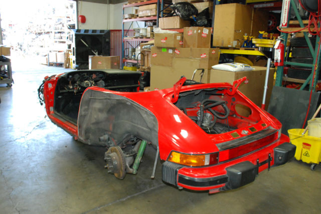 Porsche 911 87 Carrera G50 Speedster Chassis Body Salvage