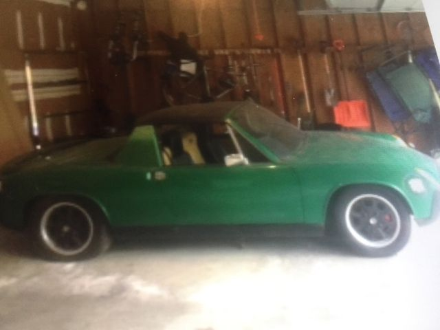 1975 Porsche 914 4 cylinder 1.8L coupe classic collector