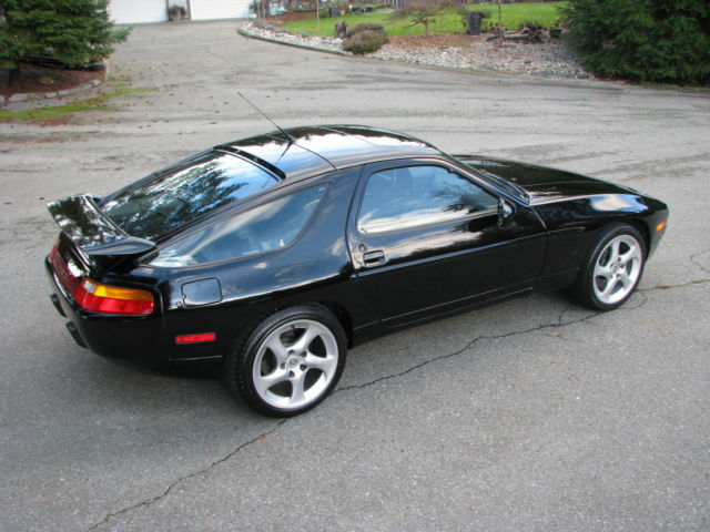 1993 Black Porsche 928 GTS Coupe with Black interior