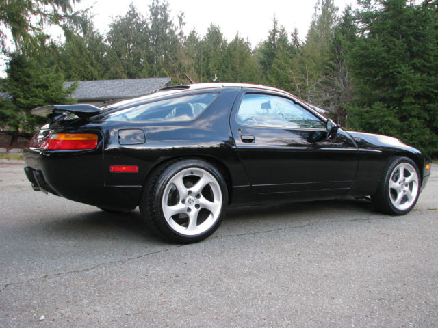 porsche 928 gts in black metallic automatic 1993 928gts for sale photos technical. Black Bedroom Furniture Sets. Home Design Ideas