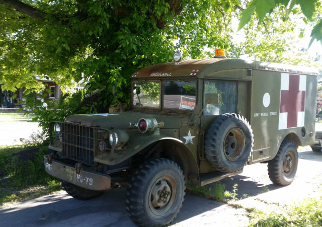 1951 Dodge Other Pickups US Army 3/4 ton 4x4 Truck Ambulance M37 - M43