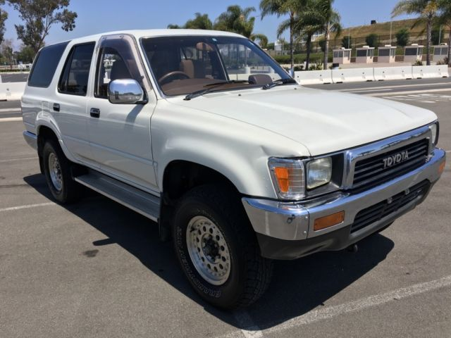 1989 Toyota 4 Runner / Hi-Lux Surf 83K NEVER ON MAIL ROUTE A ON ROAD USE