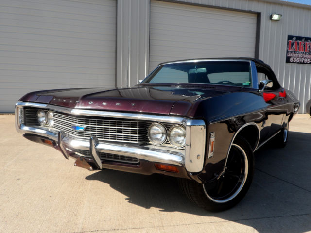 1969 Chevrolet Impala CONVERTIBLE, POWER STEERING, POWER DISC BRAKES