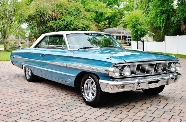 1964 Ford Galaxie 500XL Fastback Z Code 390 V8 Simply Gorgeous