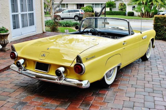 1955 Ford Thunderbird Convertible Hard & Soft Top Absolutely Gorgeous