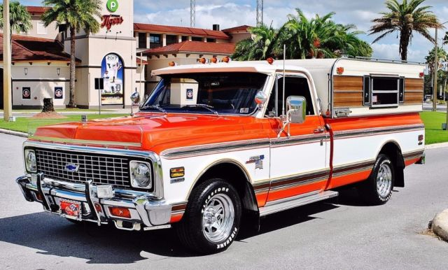 1972 Chevrolet C-10 Custom Pickup Fully Restored Show Truck
