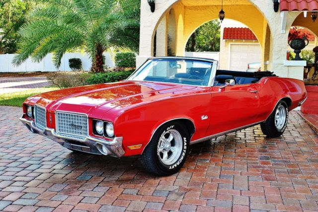 1972 Oldsmobile Cutlass Supreme Convertible Fully Restored