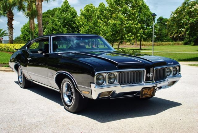 1970 Oldsmobile 442 Numbers Matching 455/365hp V8 Air Conditioning