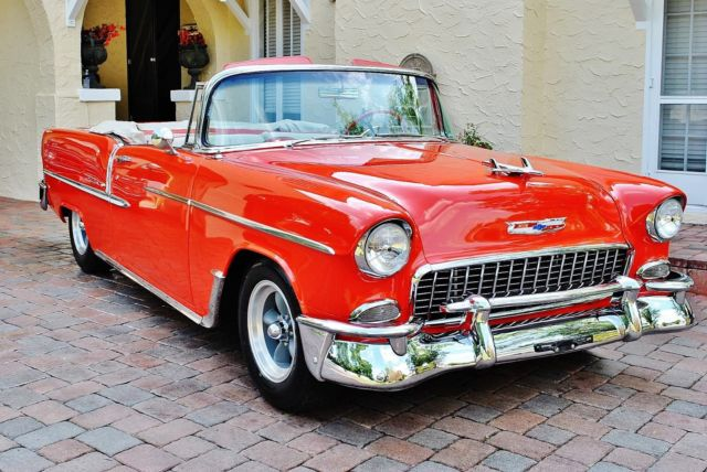1955 Chevrolet Bel Air/150/210 Convertible Absolutely Stunning Restoration