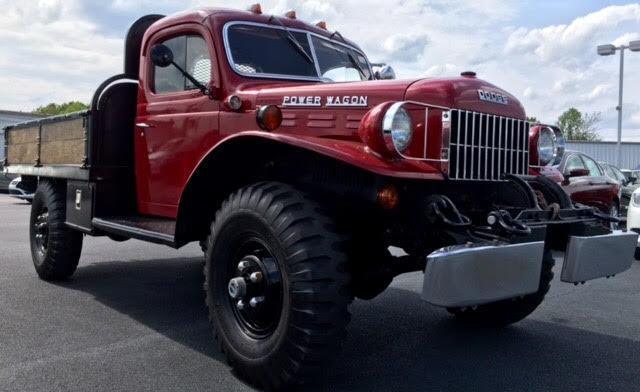 Wagon 4x4 Red Hydraulic Dump Pto Winch American History