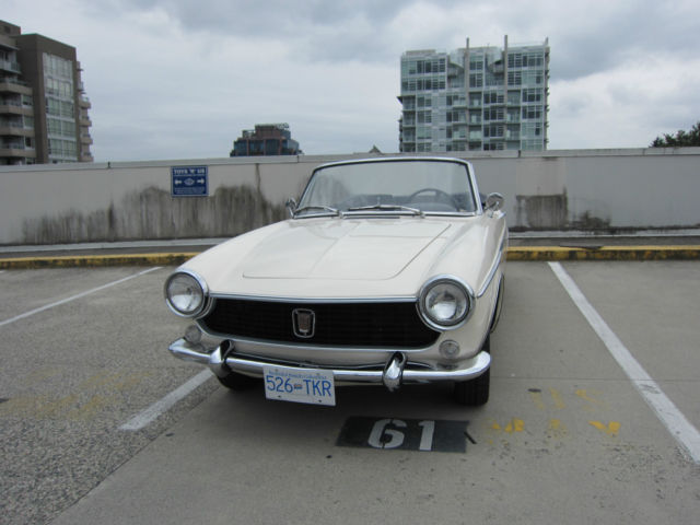 1964 Fiat 1500 Cabriolet Normale