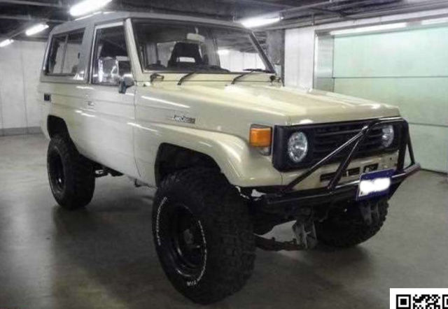 1991 Toyota Land Cruiser Topless