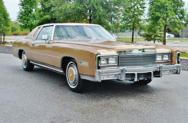 1977 Cadillac Eldorado Wow best example to be found just 3705 miles