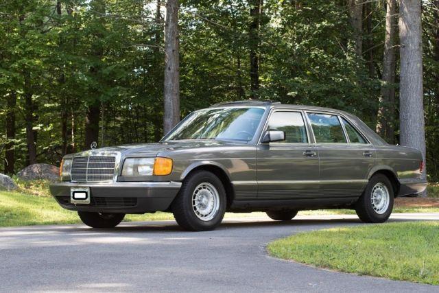 Pristine second owner w126 v126 380se 300sel 420sel 560sel for Mercedes benz w126 for sale