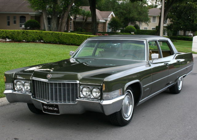 1970 Cadillac Fleetwood BROUGHAM - TWO OWNER - 49K MI