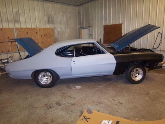 Pro Street Project Car Cars 1971 71 Pontiac Lemans For Sale