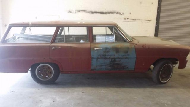 Project 1967 Nova Wagon for sale: photos, technical specifications