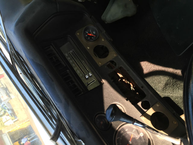Project 1971 Chevrolet El Camino Custom with parts tach dash cowl