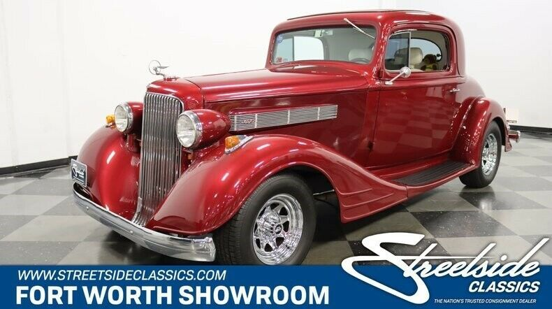 1934 Pontiac Rumble Seat Coupe