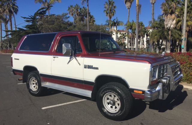1985 Dodge Ramcharger Prospector