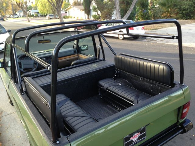 Range Rover Classic 2 Door Frame Off Restoration Project Very Rare Parts For Sale Photos