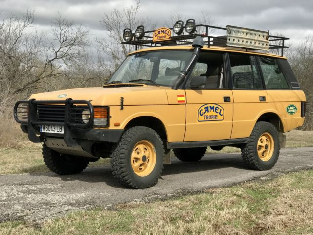 range rover classic camel trophy replica for sale: photos, technical