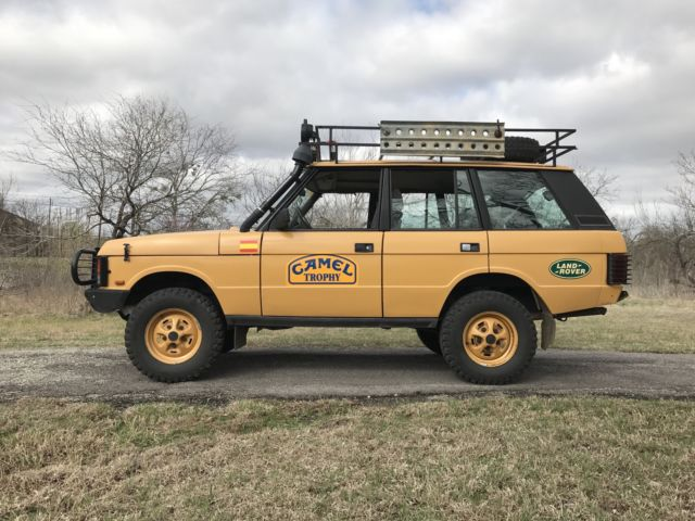 Range Rover Classic Camel Trophy Replica For Sale Photos