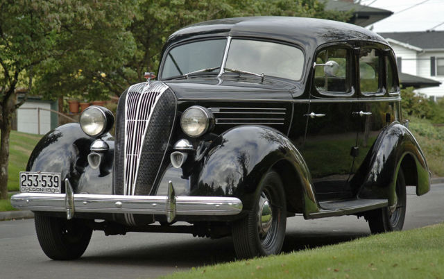1936 Other Makes - Hudson Custom Six Brougham - (Upgraded Terraplane)