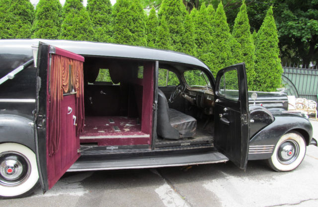 Used Hearse For Sale >> Rare 1942 Packard Henney Hearse Funeral Car Orig Complete Survivor Clear Title for sale: photos ...