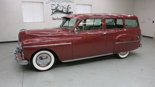 rare 1949 plymouth suburban p 17 2 dr station wagon. Black Bedroom Furniture Sets. Home Design Ideas