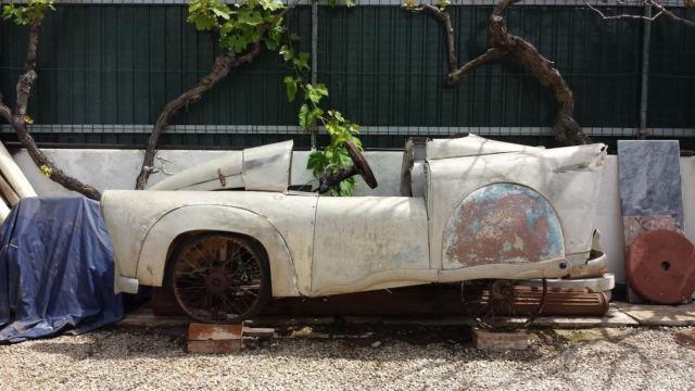 rare 1950 rapida museum quality prototype micro car for