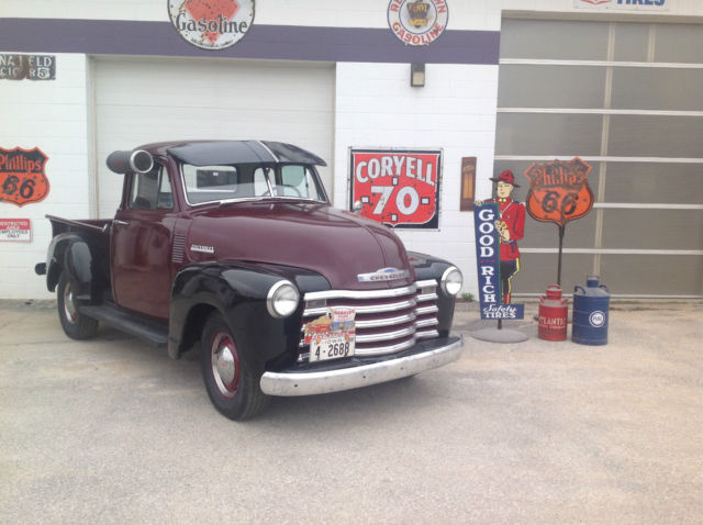 1951 Chevrolet Other Pickups 5 window 3100 1/2 ton short box