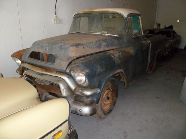 Rare 1956 Gmc V8 Hydramatic Real Suburban Carrier Project