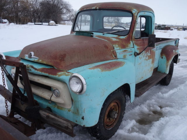 RARE 1956 International S-120 Pickup, Original Patina
