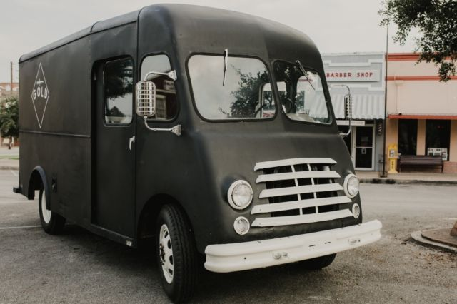 RARE 1957 Chevy Food Coffee Van 1 of 150 Vintage Grumman, Divco